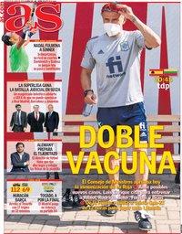 capa Jornal As de 8 junho 2021