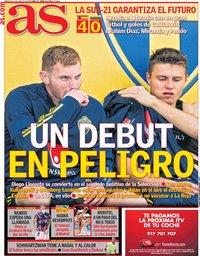capa Jornal As de 9 junho 2021