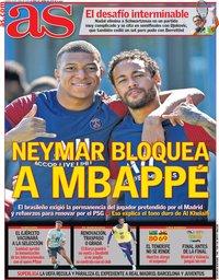 capa Jornal As de 10 junho 2021