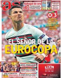 capa Jornal As de 16 junho 2021