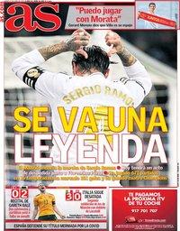 capa Jornal As de 17 junho 2021