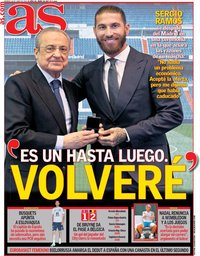 capa Jornal As de 18 junho 2021