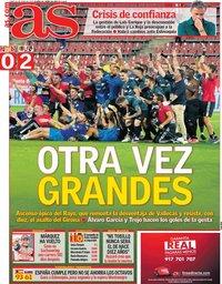 capa Jornal As de 21 junho 2021