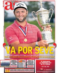 capa Jornal As de 22 junho 2021