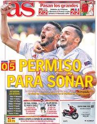 capa Jornal As de 24 junho 2021