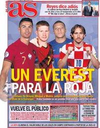 capa Jornal As de 25 junho 2021