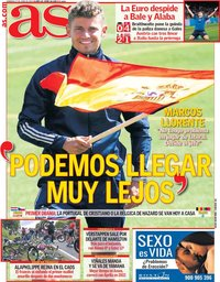 capa Jornal As de 27 junho 2021