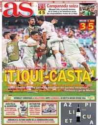 capa Jornal As de 29 junho 2021