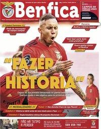 capa Jornal Benfica de 4 junho 2021