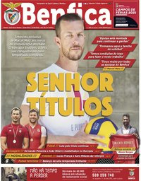 capa Jornal Benfica de 11 junho 2021