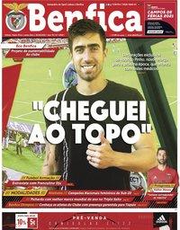 capa Jornal Benfica de 25 junho 2021