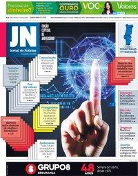 capa Jornal de Notícias de 2 junho 2021