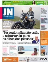 capa Jornal de Notícias de 6 junho 2021