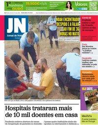 capa Jornal de Notícias de 18 junho 2021