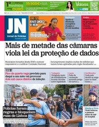 capa Jornal de Notícias de 22 junho 2021
