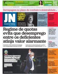 capa Jornal de Notícias de 29 junho 2021