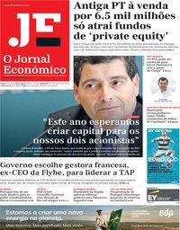 capa Jornal Económico de 4 junho 2021