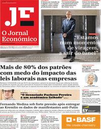 capa Jornal Económico de 11 junho 2021