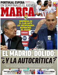 capa Jornal Marca de 1 junho 2021