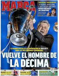 capa Jornal Marca de 2 junho 2021