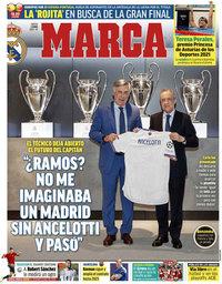 capa Jornal Marca de 3 junho 2021