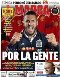 capa Jornal Marca de 4 junho 2021