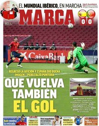 capa Jornal Marca de 5 junho 2021