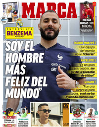 capa Jornal Marca de 6 junho 2021