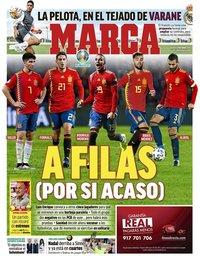 capa Jornal Marca de 8 junho 2021