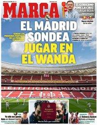 capa Jornal Marca de 9 junho 2021