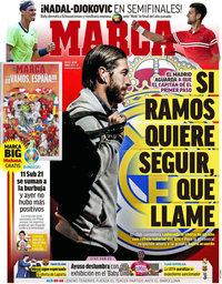 capa Jornal Marca de 10 junho 2021