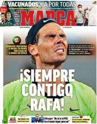 capa Jornal Marca de 12 junho 2021