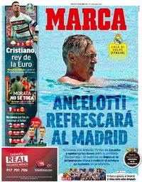 capa Jornal Marca de 16 junho 2021