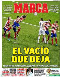 capa Jornal Marca de 18 junho 2021
