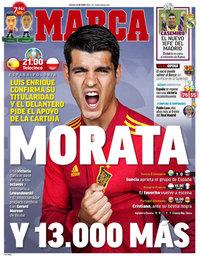 capa Jornal Marca de 19 junho 2021