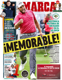 capa Jornal Marca de 22 junho 2021