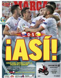 capa Jornal Marca de 24 junho 2021