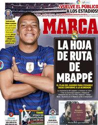 capa Jornal Marca de 25 junho 2021