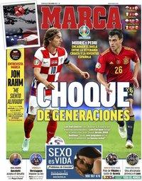 capa Jornal Marca de 27 junho 2021