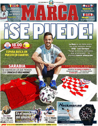 capa Jornal Marca de 28 junho 2021