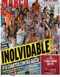capa Jornal Marca de 29 junho 2021