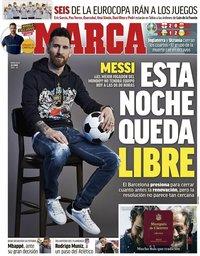capa Jornal Marca de 30 junho 2021