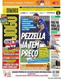 capa Jornal O Jogo de 13 junho 2021