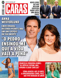 capa Revista Caras de 24 junho 2021