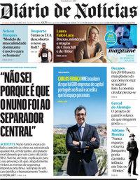 capa Diário de Notícias de 4 julho 2021