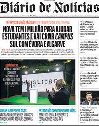 capa Diário de Notícias de 6 julho 2021