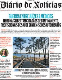 capa Diário de Notícias de 7 julho 2021