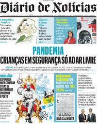 capa Diário de Notícias de 10 julho 2021
