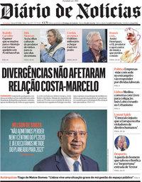 capa Diário de Notícias de 17 julho 2021