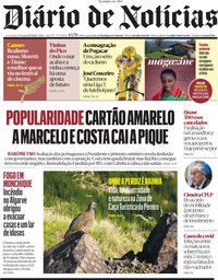 capa Diário de Notícias de 18 julho 2021
